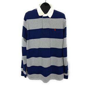 Polo Ralph Lauren Mens Polo Rugby Shirt XL Stripe